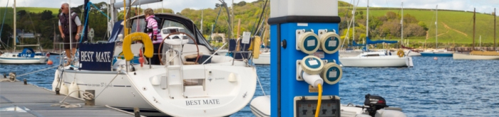 Electrical Contractor Dock Moor Hook Up Stations for Boats Northern Ireland